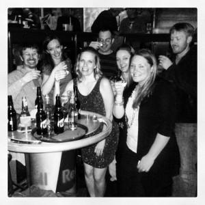 The birthday gang...