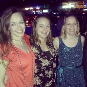 Sarah, Amy and I