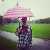 Jason, donning my umbrella