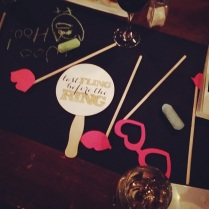 Props at Bachelorette Party